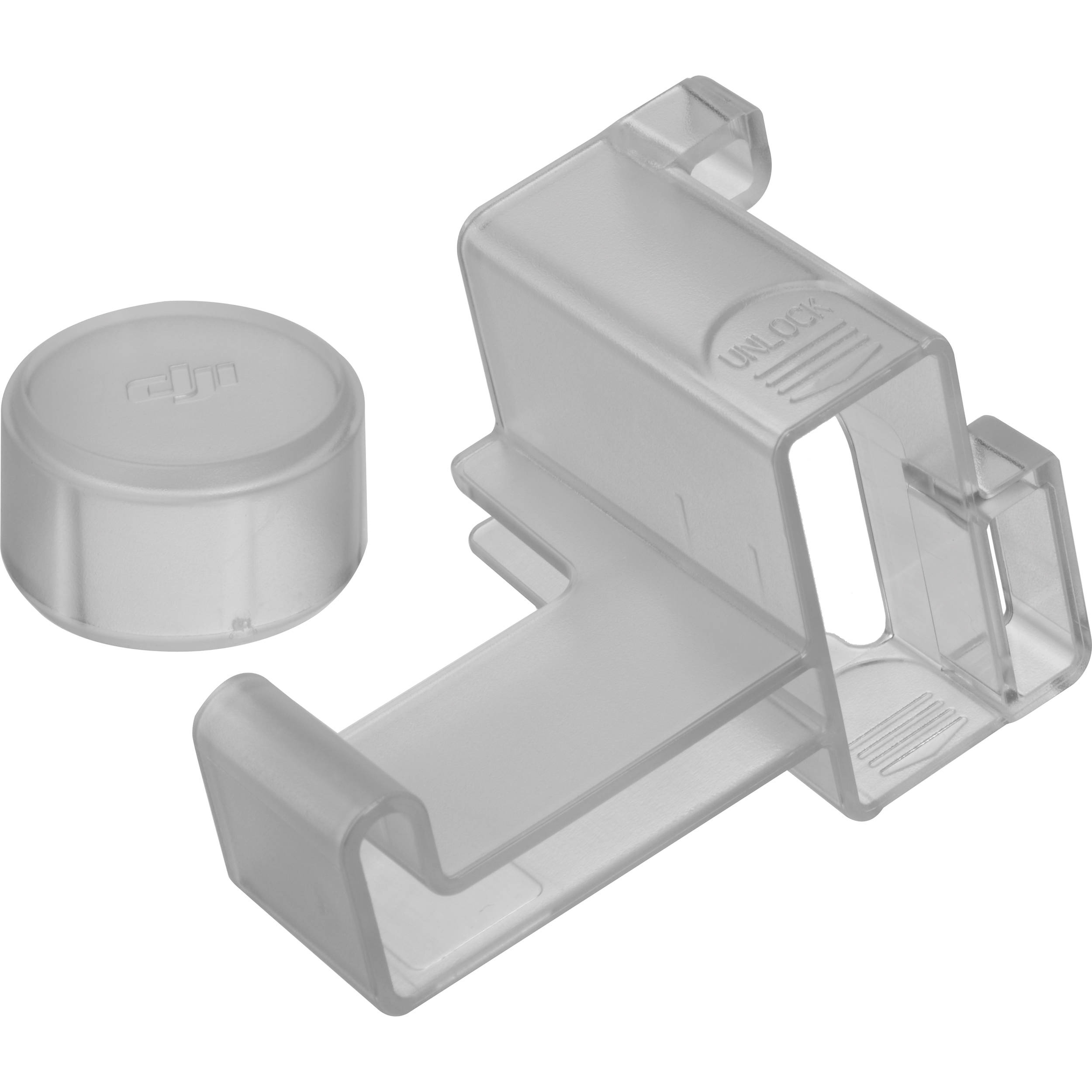 DJI Gimbal Clamp and Camera Cover for Phantom 2 Vision+ (Part 5)