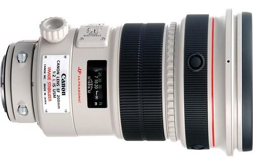 Canon EF 200mm f2.0L IS II USM Telephoto Autofocus Lens