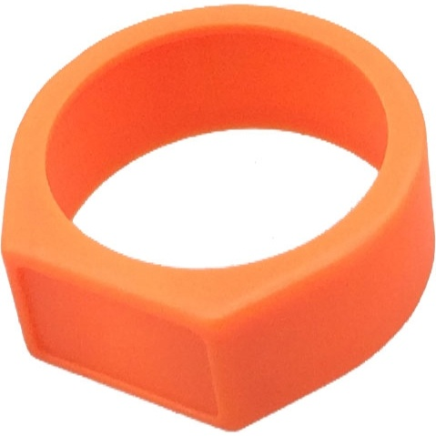 Neutrik XCR Coloured Ring (Orange Finish)