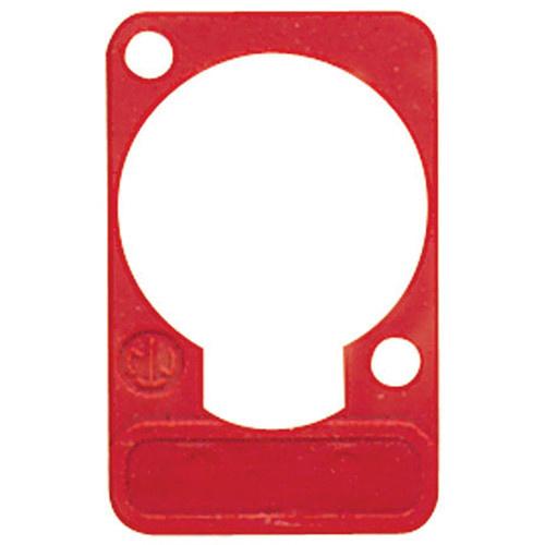 Neutrik DSS Lettering Plate (Red)