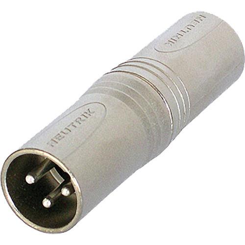 Neutrik NA3M5M 3-Pole XLR Male to 5-Pole XLR Male Gender Conversion Adapter