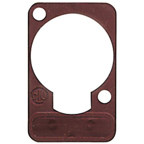 Neutrik DSS Lettering Plate (Brown)