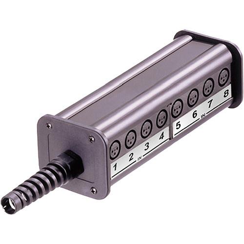 Neutrik 12-Input & 4-Output Stage Box (Type C, Length 2)