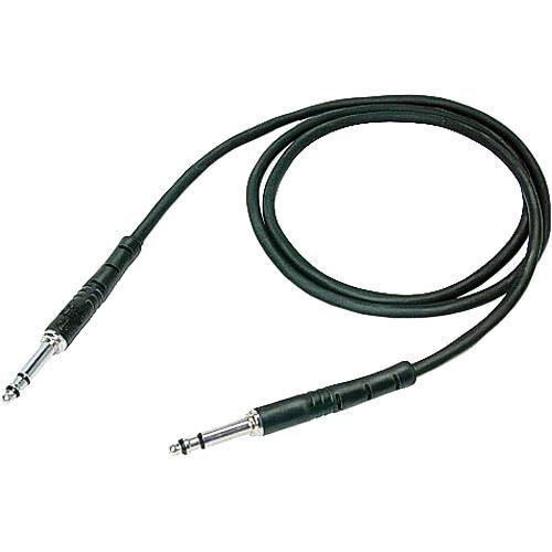 """Neutrik NKTT05-BL Patch Cable with NP3TT-1 Plugs (23.62"""" / 60 cm)"""