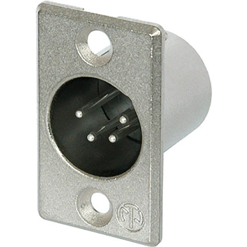 Neutrik 4-Pole Male Receptacle with Soldered Contacts