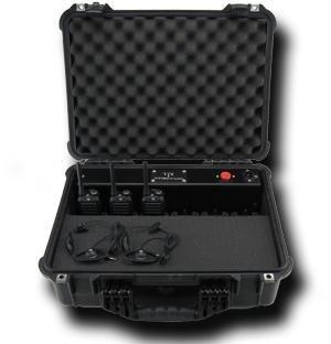 Titan Radio TR46PEL 6 Bank Charger in Pelican Case for the Titan TR400