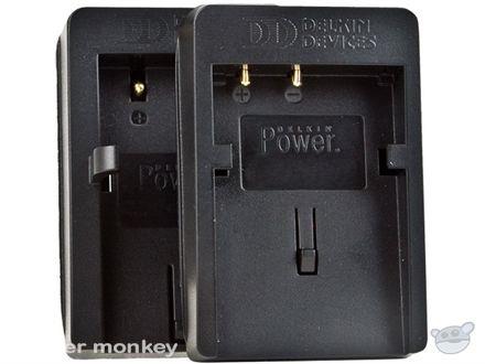 Delkin NB4L Charging Plates