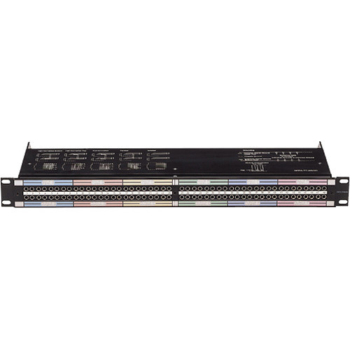 Neutrik NPPA-TT-E56 96 Bantam (TT) Termination Patch Panel