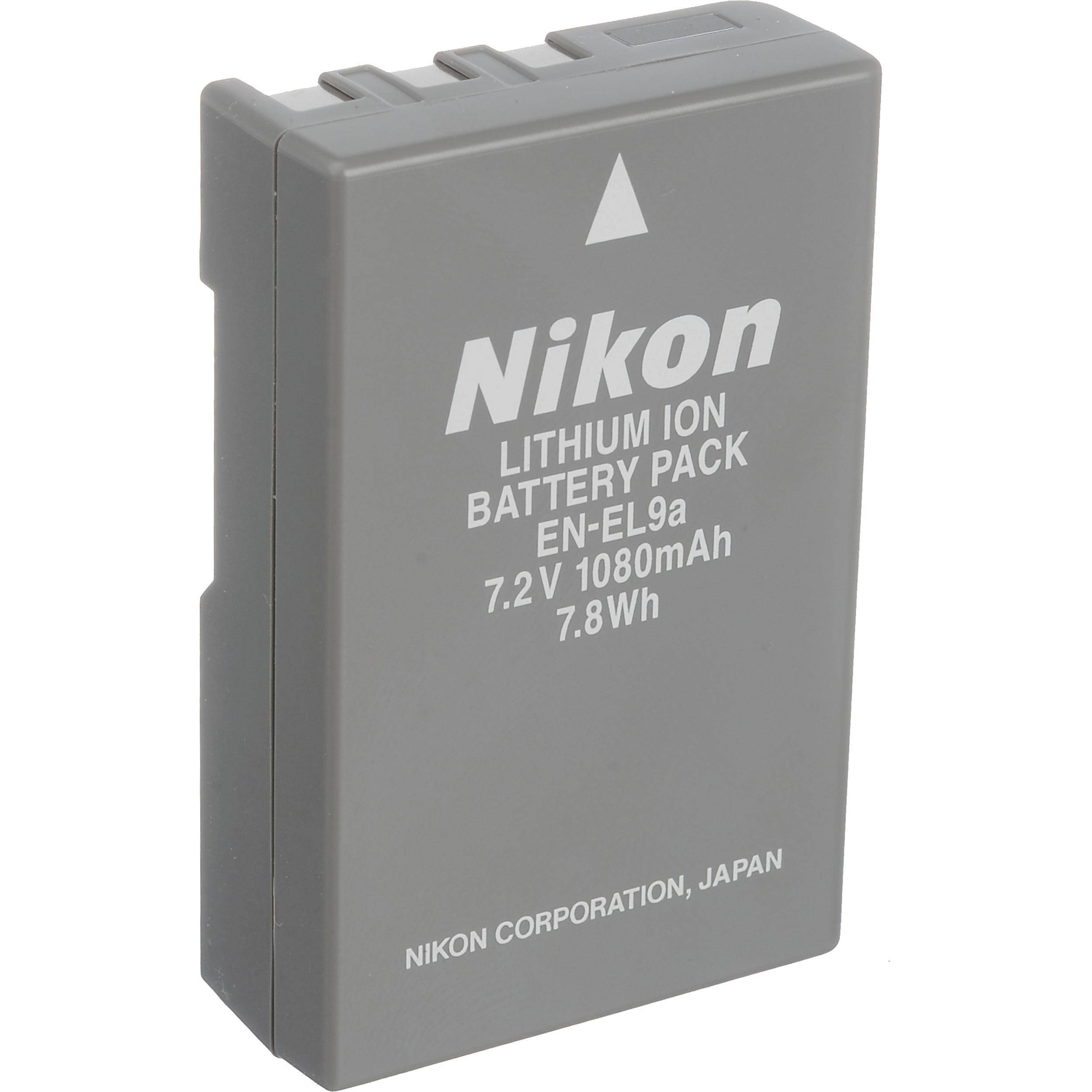 Nikon EN-EL9A LI-ION Rechargeable Battery
