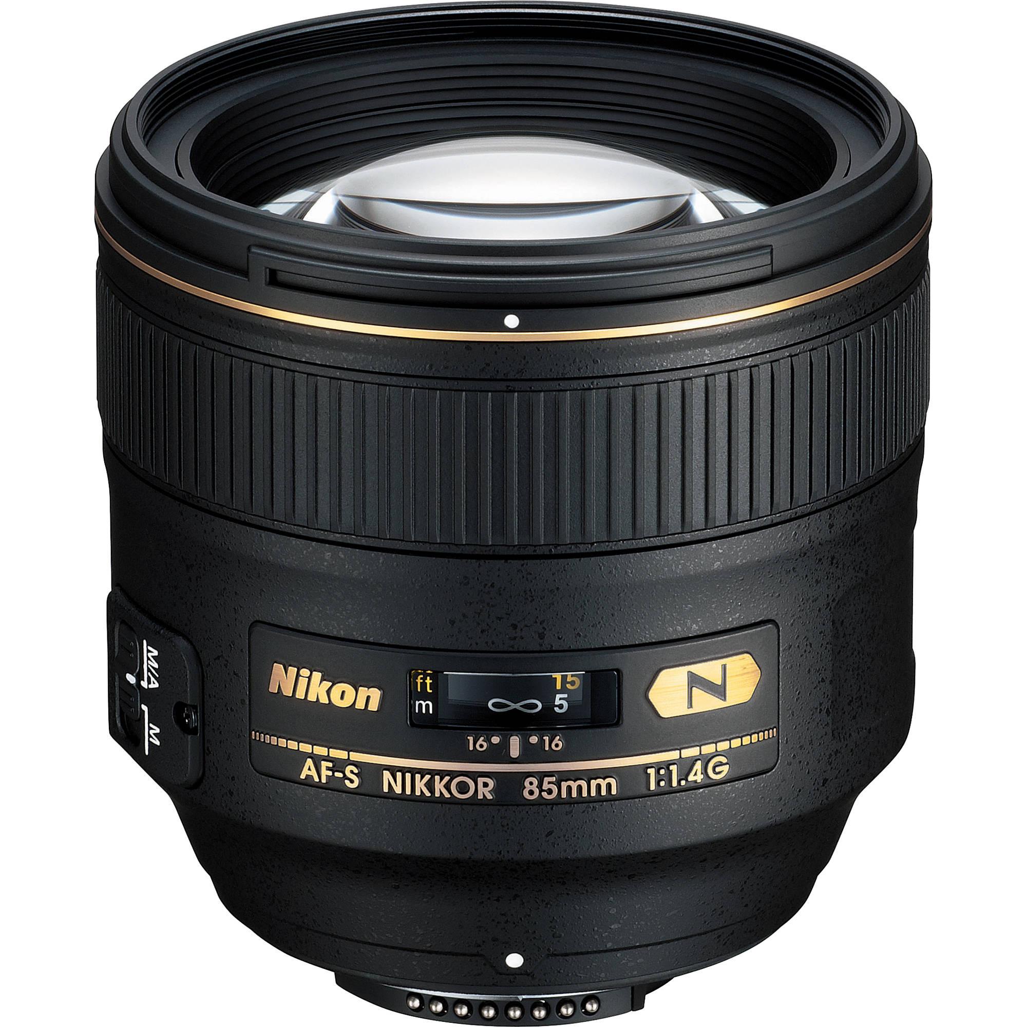 Nikon Telephoto AF-S 85mm f1.4G Lens