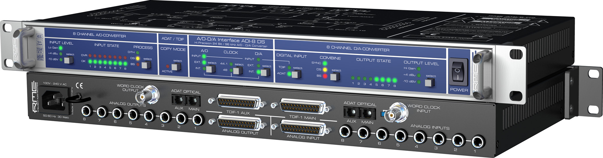 RME ADI 8 DS Broadcast