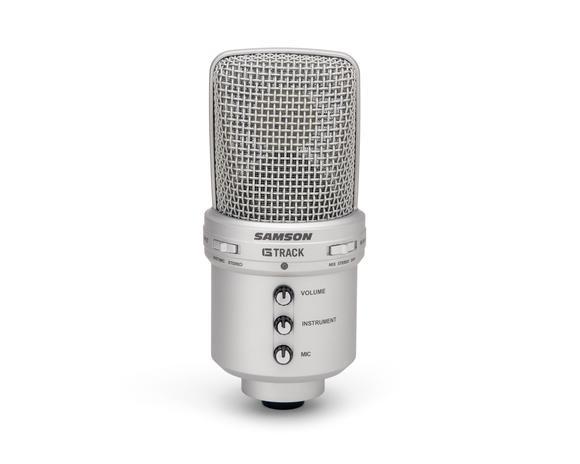 Samson G-Track USB Condenser Mic with Audio Interface