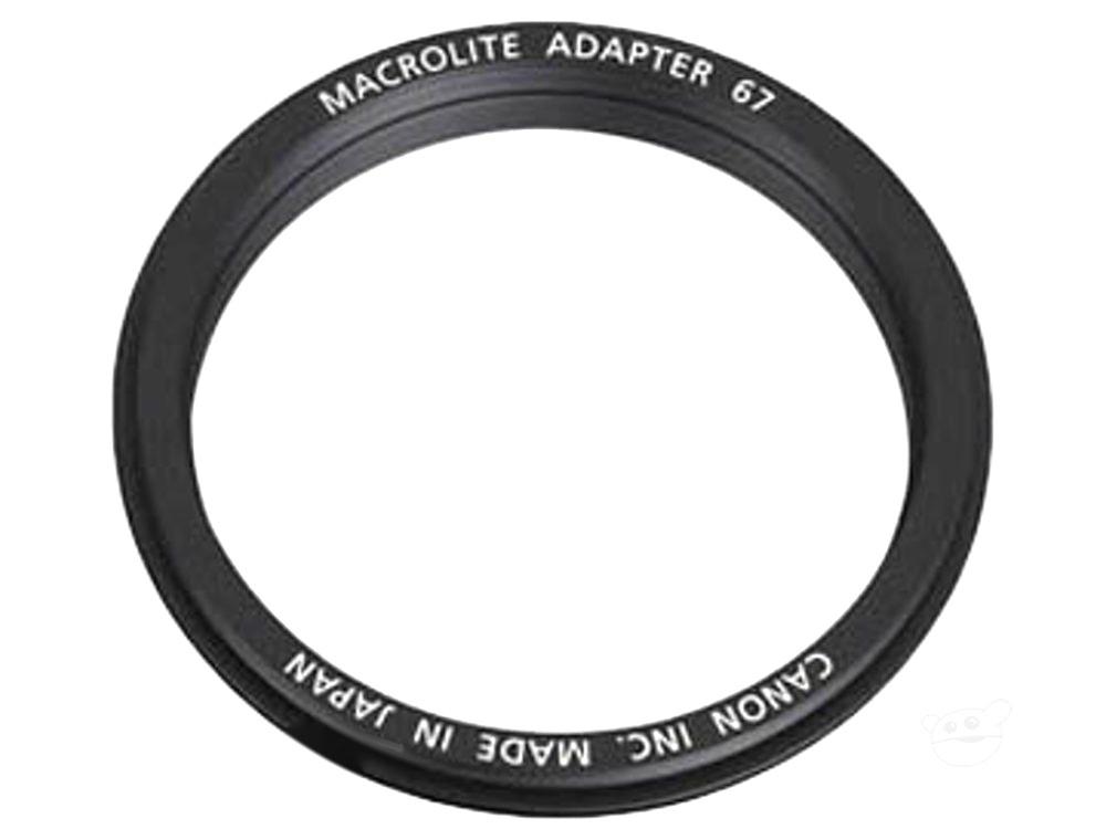 Canon MA67 Macrolite Adapter