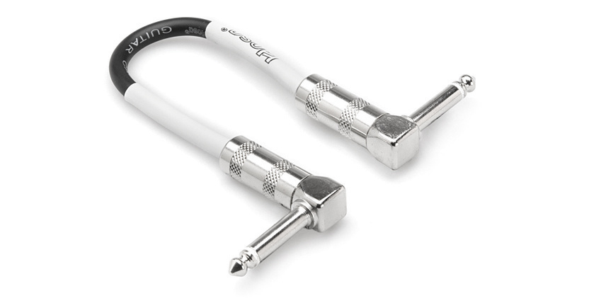 Hosa CPE-106 Guitar Patch Cable 6''