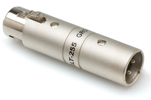 Hosa GLT-255 Ground Lift Adapter