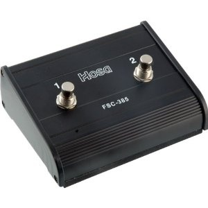 Hosa FSC-385 Dual Latch Foot Switch