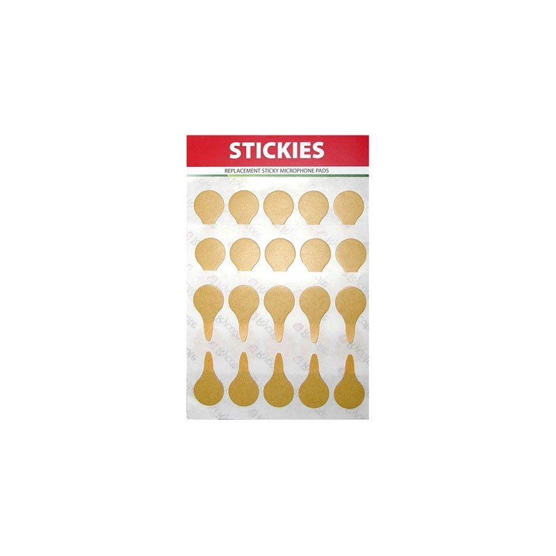 Rycote - 25 x Stickie Replacement Pack (30 uses)