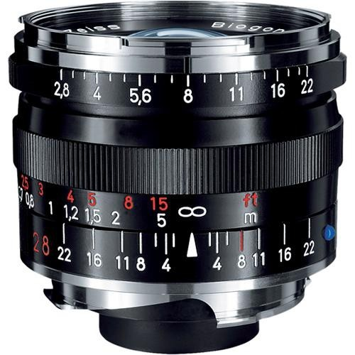 Zeiss Biogon T* 28mm f2.8 ZM Lens BLACK