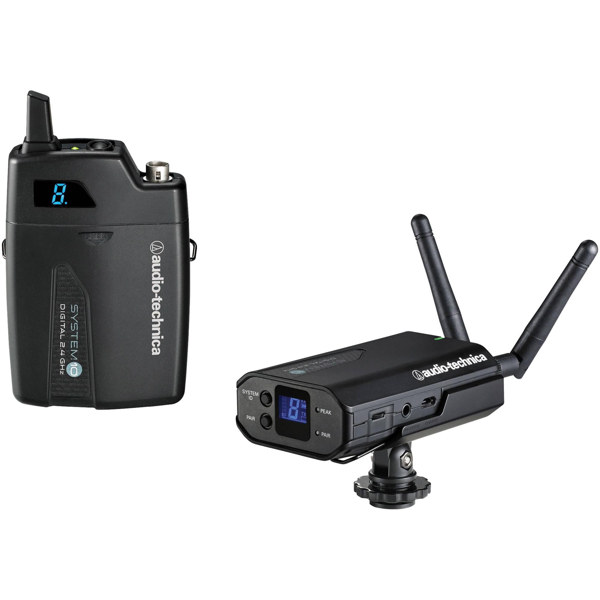 Audio Technica ATW-1701 Camera-Mount Digital Wireless Microphone System