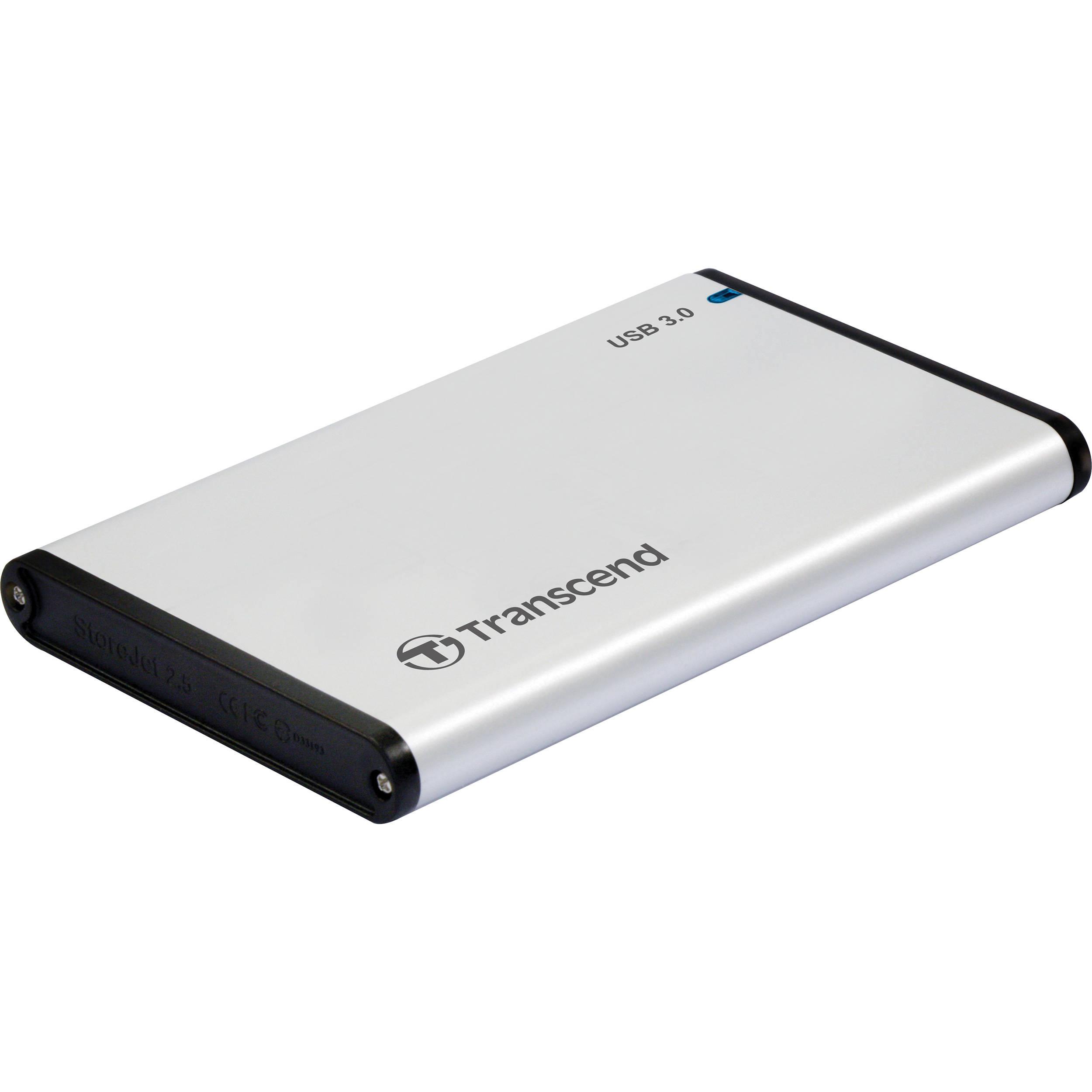 Transcend StoreJet 25S3 USB 3.0 Enclosure