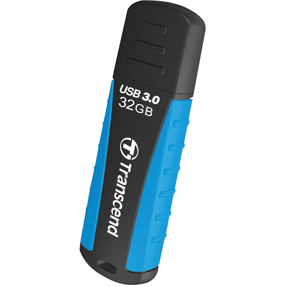 Transcend 32GB JetFlash 810 USB 3.0 Flash Drive (Blue/Black)