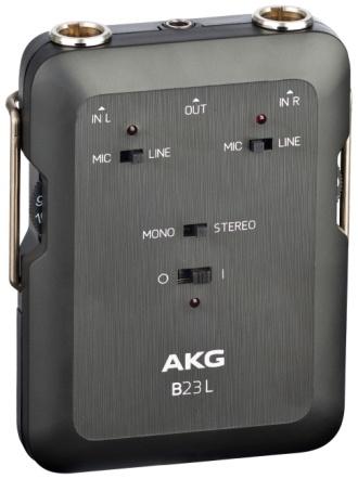 AKG B23L Phantom Power Supply & Mini Recording Mixer