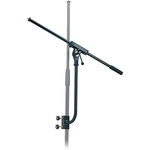 """K&M 240/1 Microphone Mounting Arm with Boom - Height: 13.38"""" (340mm)"""
