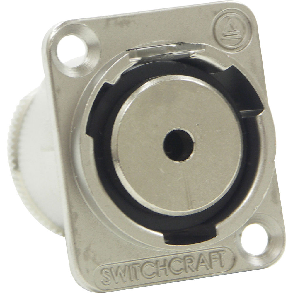 Switchcraft EH Series 3.5MM 3 Conductor Jack To Solder Contacts (Nickel Finish)