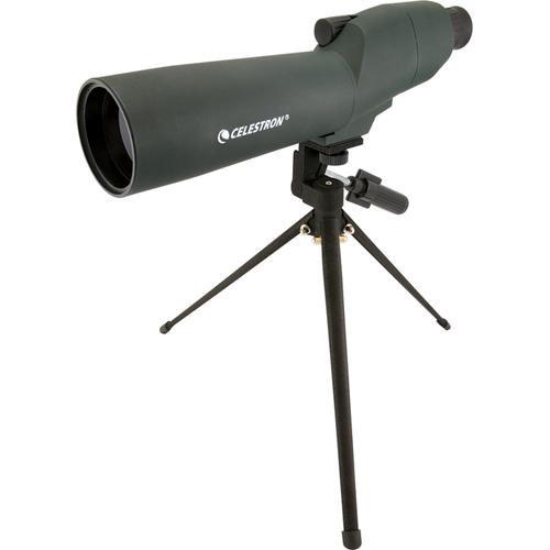 "Celestron 20-60x Zoom Refractor 2.4""/60mm Spotting Scope Kit"