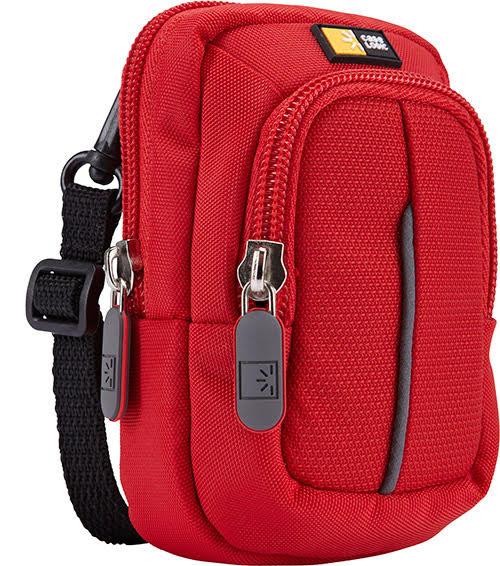 Case Logic DCB-302 Compact Camera Dual-Pocket Case (Red)