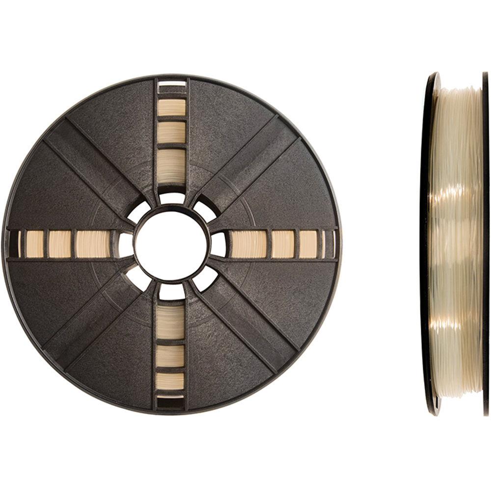 MakerBot 1.75mm PLA Filament (Large Spool, 2 lb, Natural)