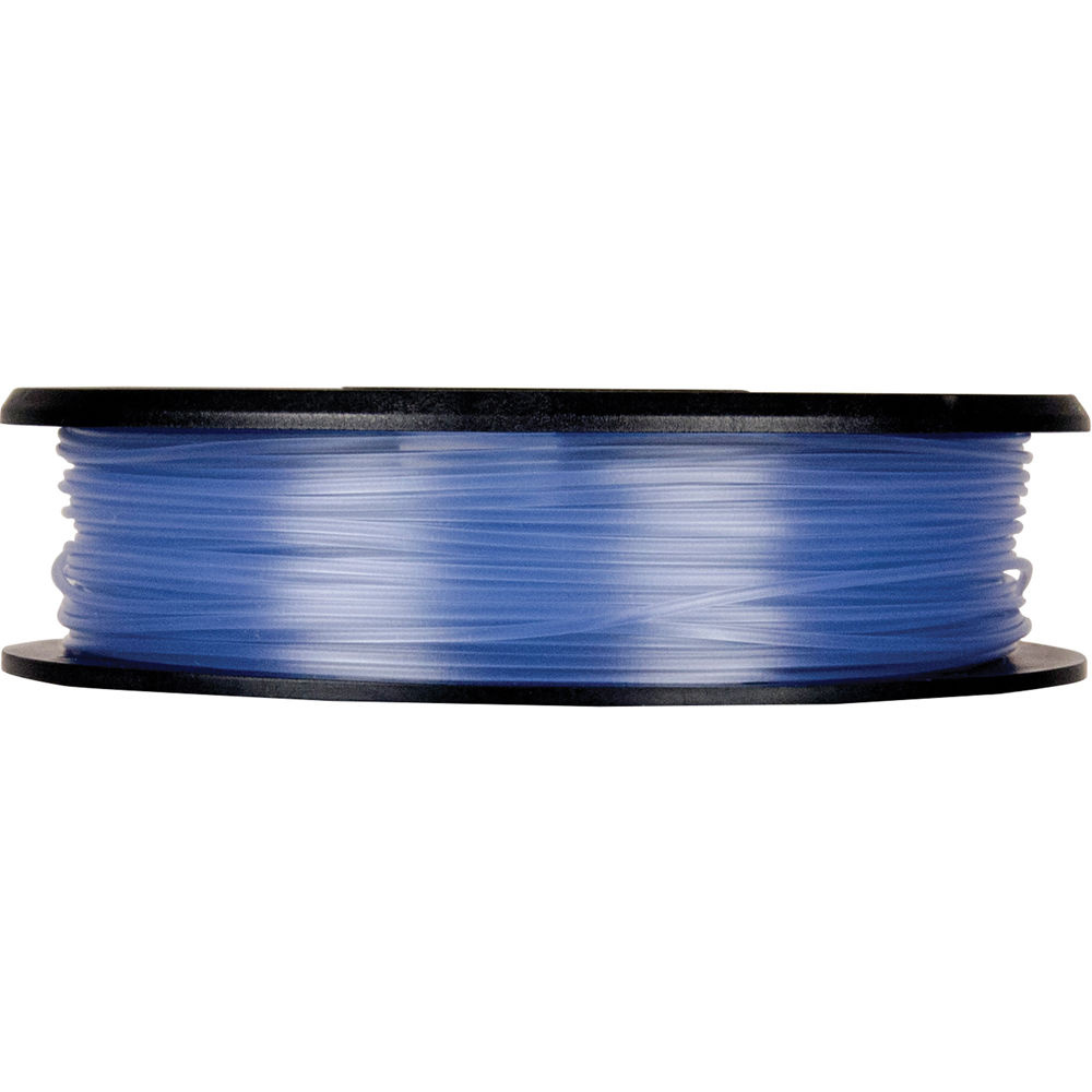 MakerBot 1.75mm PLA Filament (Small Spool, 0.5 lb, Translucent Blue)