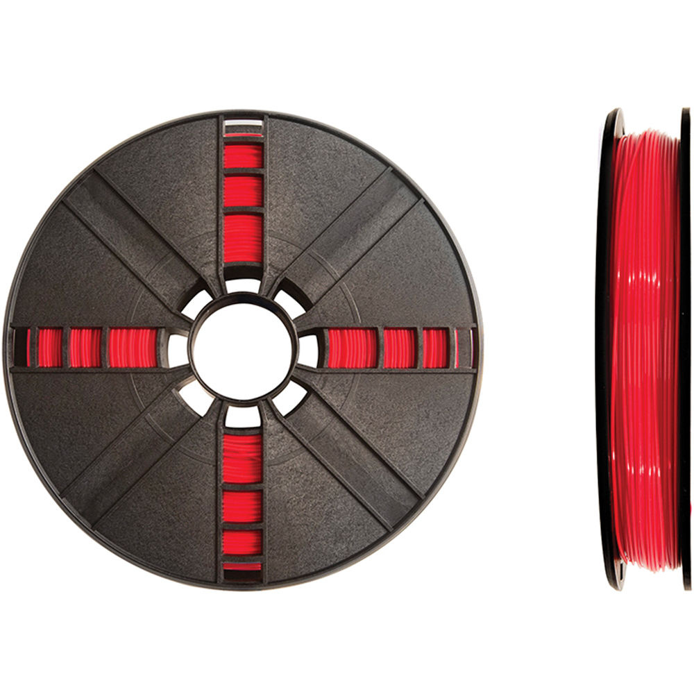 MakerBot 1.75mm PLA Filament (Large Spool, 2 lb, True Red)