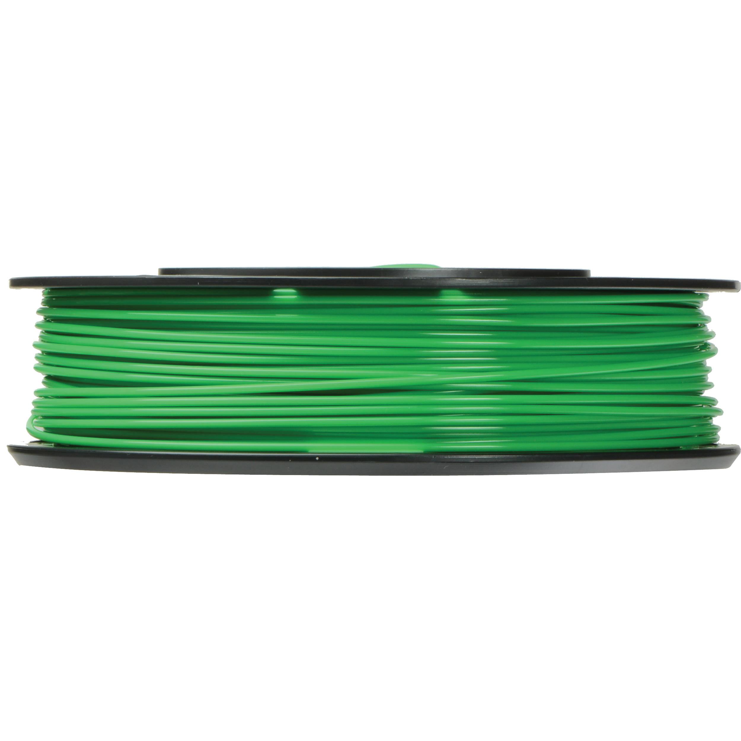 MakerBot 1.75mm PLA Filament (Small Spool, 0.5 lb, True Green)