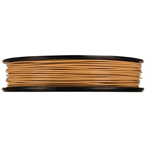 MakerBot 1.75mm PLA Filament (Large Spool, 2 lb, Light Brown)