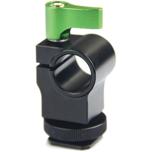 Lanparte Rod Clamp with Hot Shoe Mount