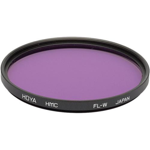 Hoya 49mm FL-W Fluorescent Hoya Multi-Coated (HMC) Glass Filter for Daylight Film