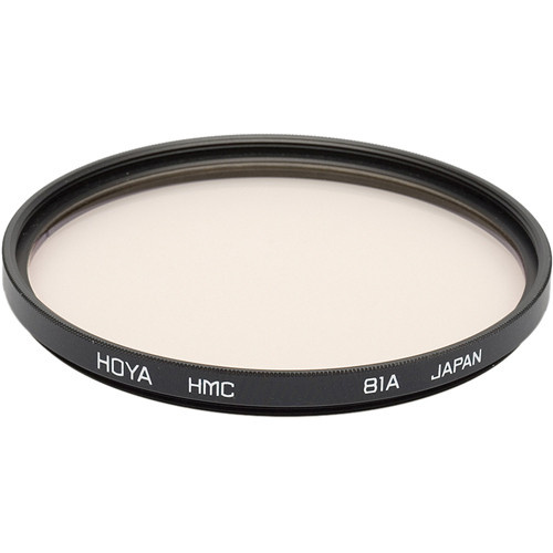 Hoya 62mm 81A Color Conversion (HMC) Multi-Coated Glass Filter