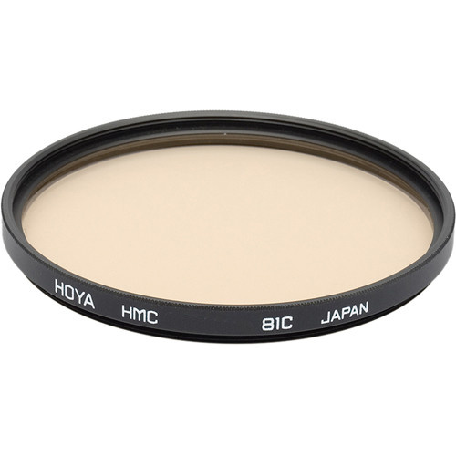 Hoya 62mm 81C Color Conversion (HMC) Multi-Coated Glass Filter