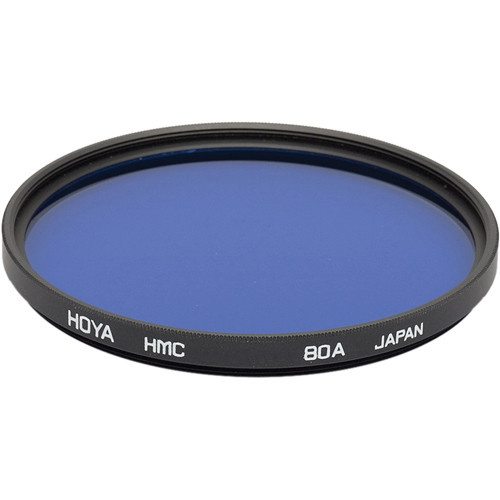 Hoya 77mm 80A Color Conversion Hoya Multi-Coated (HMC) Glass Filter