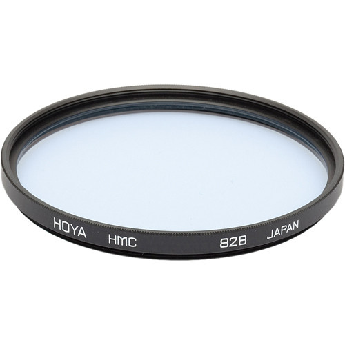 Hoya 82mm 82B Color Conversion (HMC) Multi-Coated Glass Filter