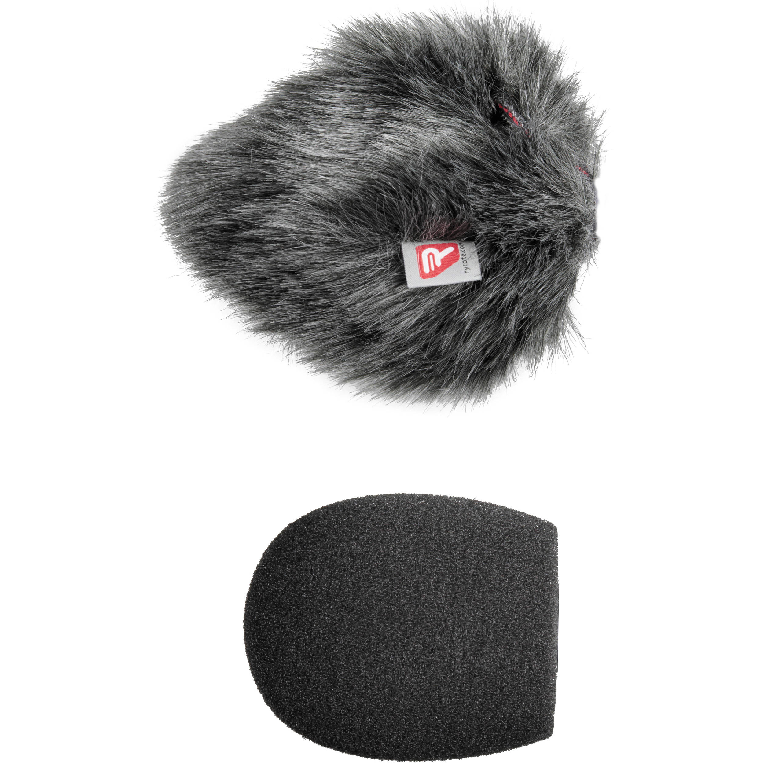 Rycote Shotgun Mic Foam and Windjammer Combo (5cm, Standard Hole)