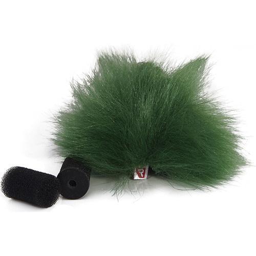 Rycote Green Lavalier Windjammer (Pair)