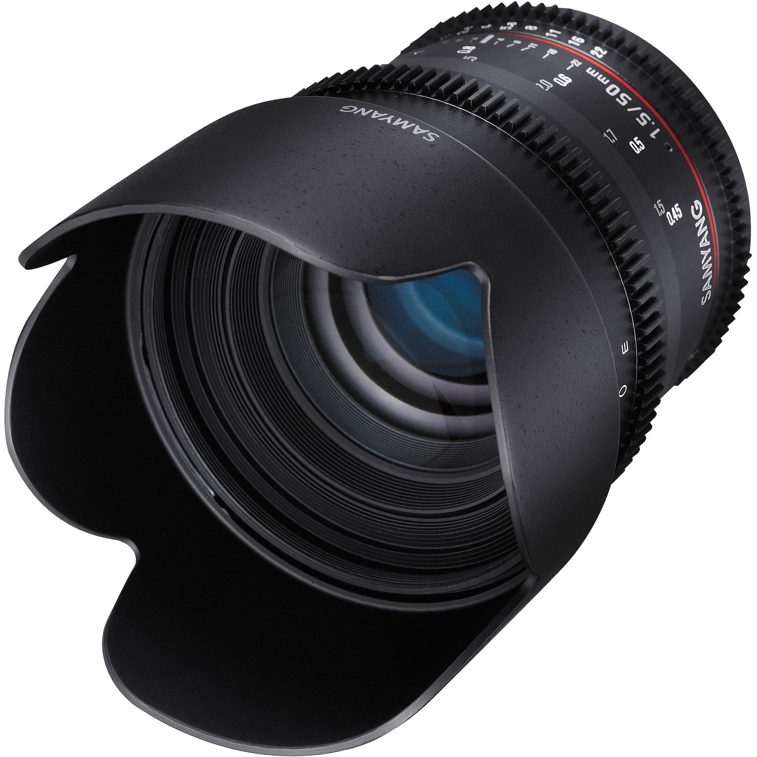 Samyang 50mm T1.5 VDSLR AS UMC Lens for Sony E Mount