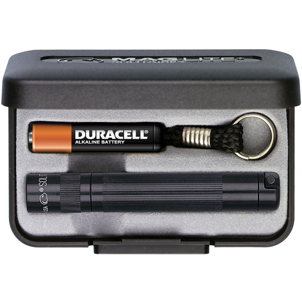 Maglite Solitaire 1-Cell AAA Flashlight with Presentation Box (Black)