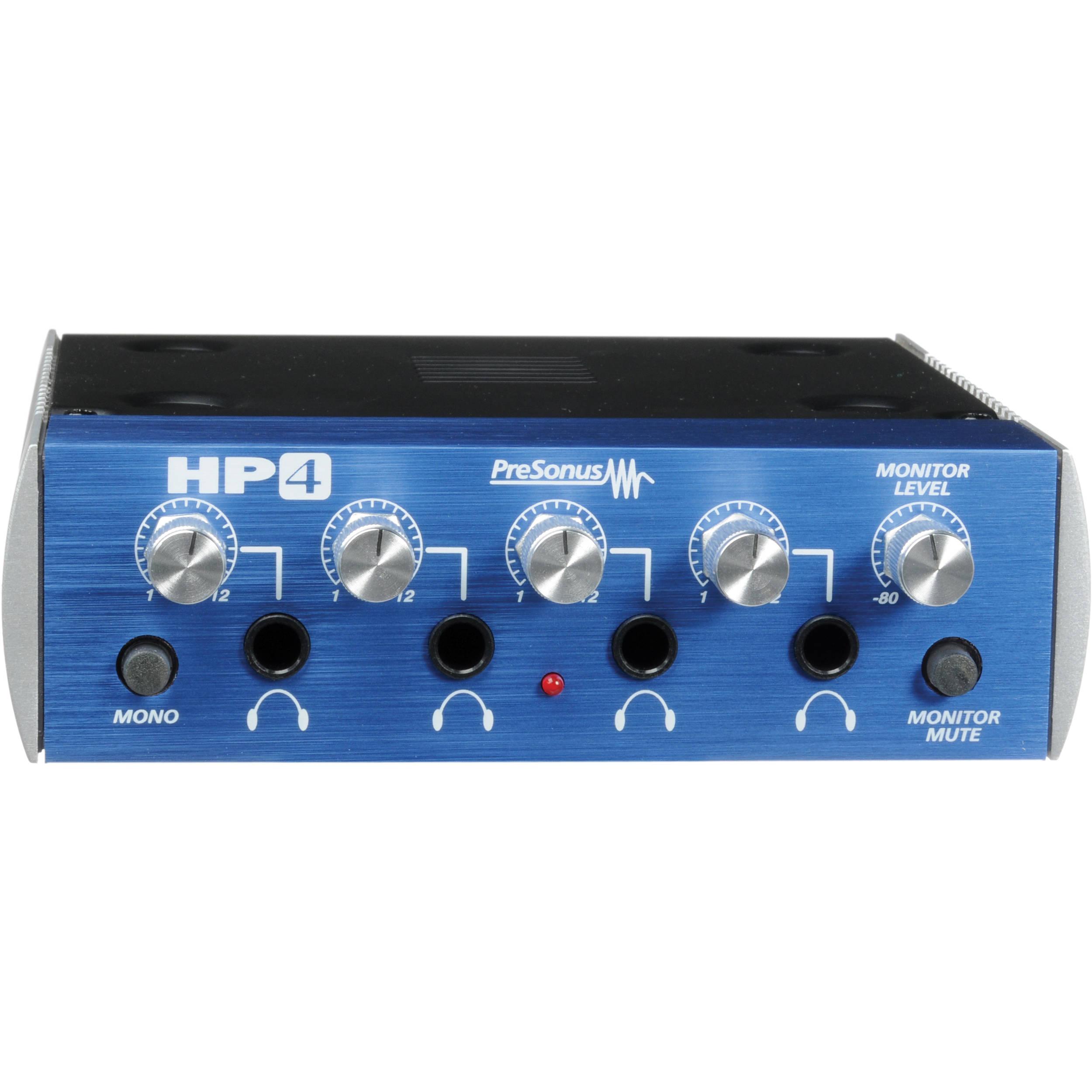 f28619b1cbc PreSonus HP4 - 4-Channel Headphone Distribution Amplifier | NZ