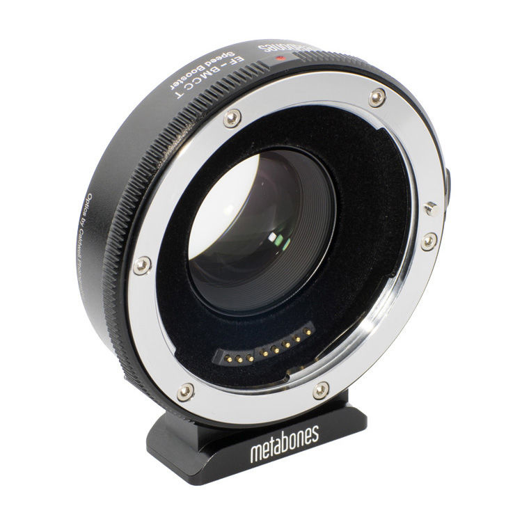 Metabones Canon EF Lens to Blackmagic 2.5k Cinema Camera T Speed Booster (Micro 4/3 Mount)