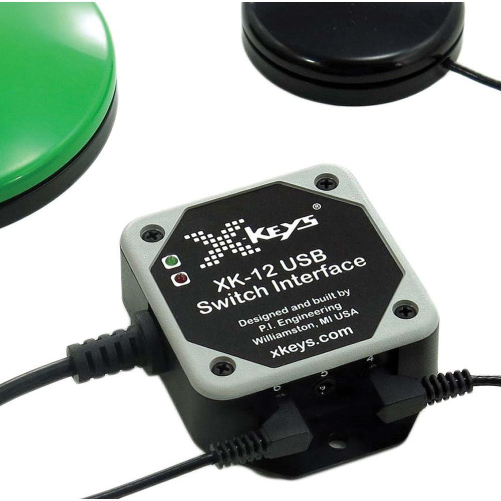 X-keys XK-12 USB 12 Switch Interface