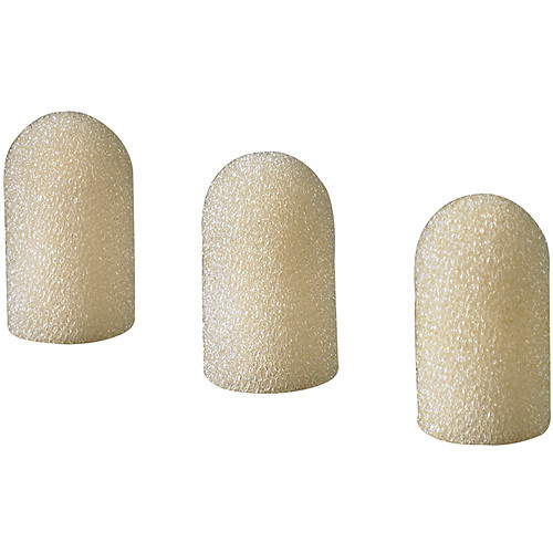Audio-Technica AT8151-TH Foam Windscreen for AT898 and AT899 (3-Pack, Beige)
