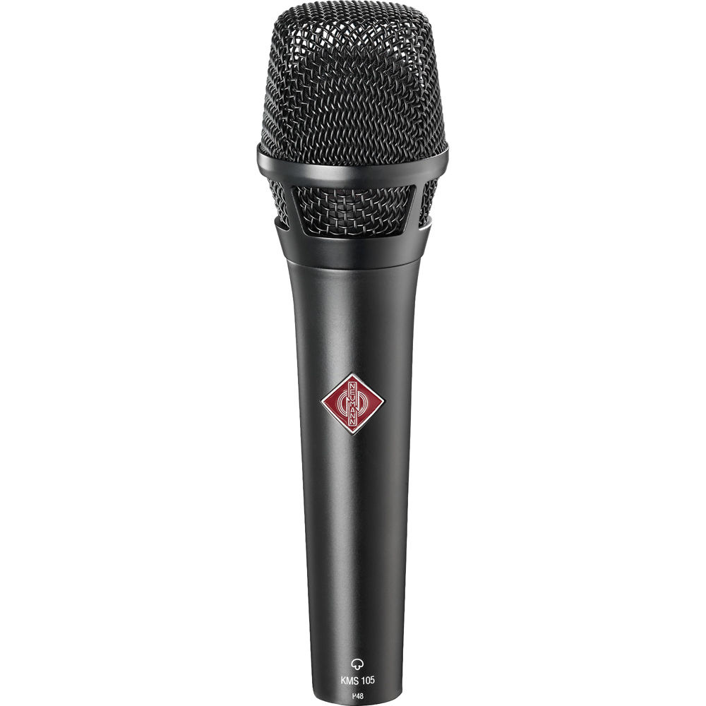 Neumann KMS 105 Live Vocal Condenser Microphone (Black)